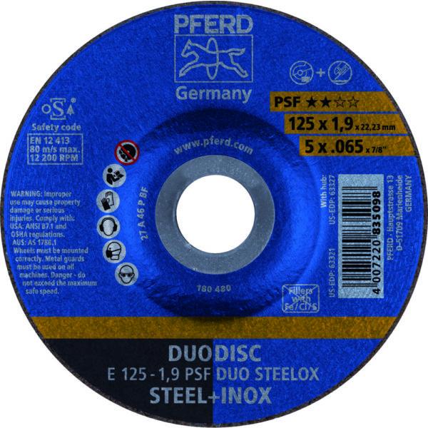 Круг отрезной PSF DUODISC STEELOX