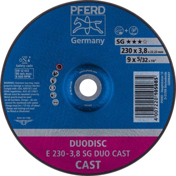 Круг отрезной SG DUODISC CAST
