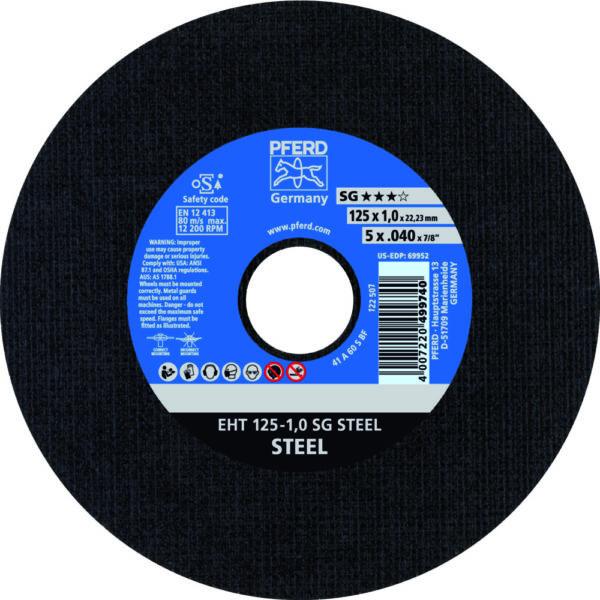 Круг отрезной SG STEEL
