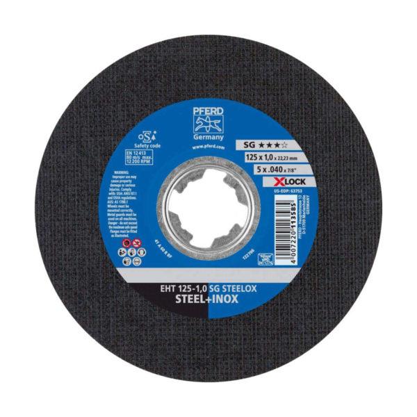 Круг отрезной SG STEELOX X-LOCK