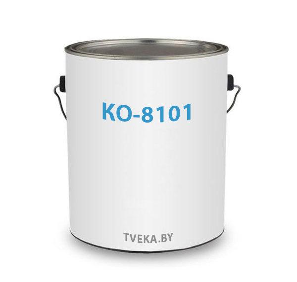 Эмаль КО-8101термостойкая, серо-серебристая